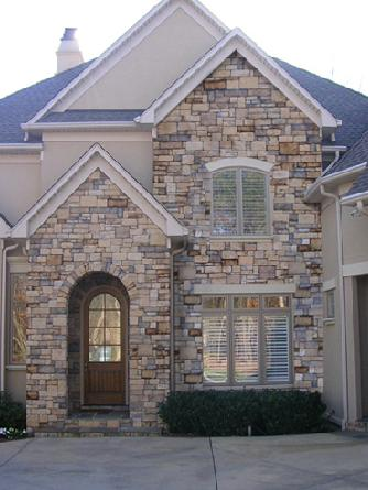 computer rendering of additional stonework